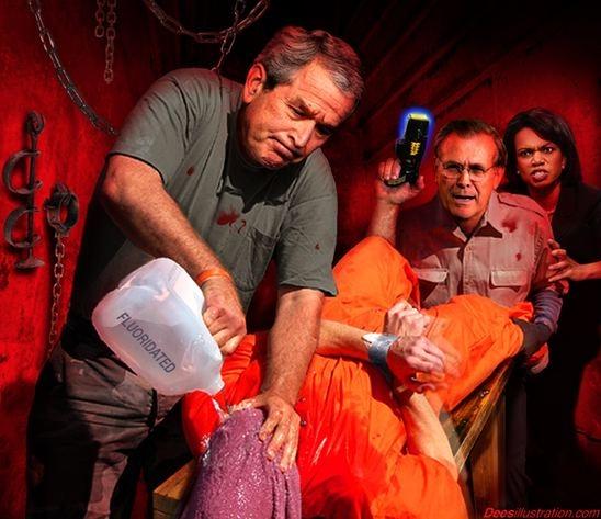 Usa torterade irakiska fangar