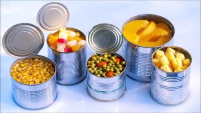 الأغذية المعلبة