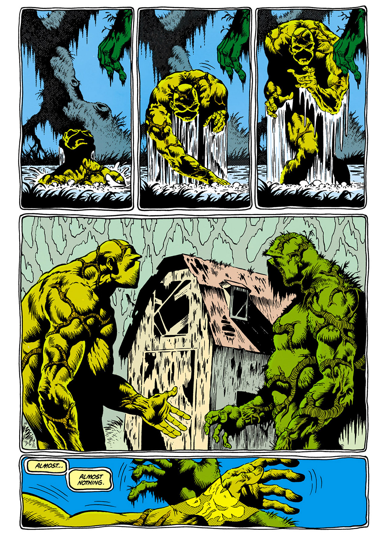 Swamp Thing (1982) Issue #28 #36 - English 18