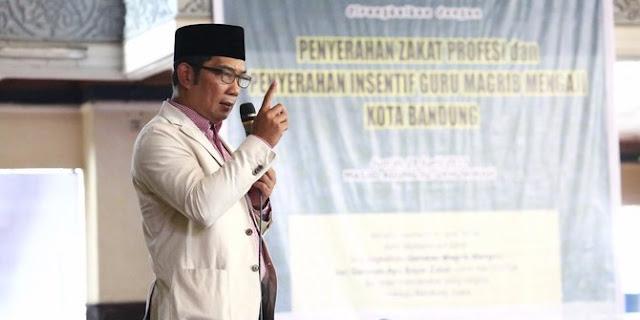 Ridwan Kamil Tak Mau kalau cuman jadi Wakil di Pilgub Jabar