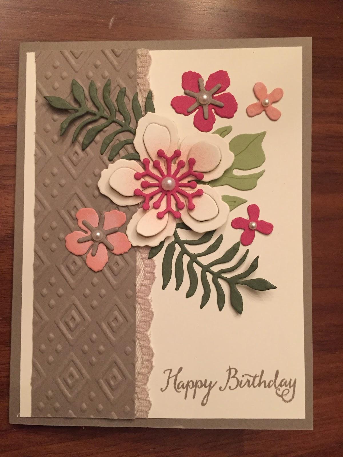 Blue Dahlia Designs Happy Birthday to My Sister Linda – Happy Birthday Card to My Sister