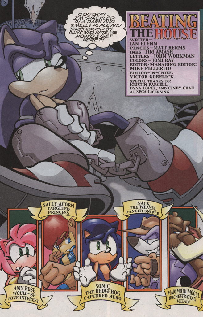 Read online Sonic The Hedgehog comic -  Issue #188 - 3
