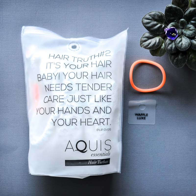 Aquis Waffle Luxe Hair Towel Turban - Review