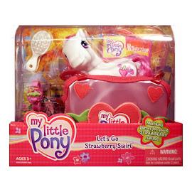 My Little Pony Strawberry Swirl Purse Sets Let's Go G3 Pony