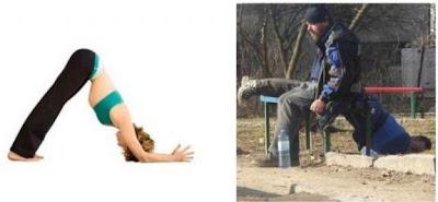 beber  estar borracho es igual que hacer yoga