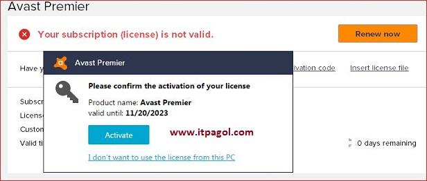 Avast Premier 2017 license key   Full Version - Online Tips