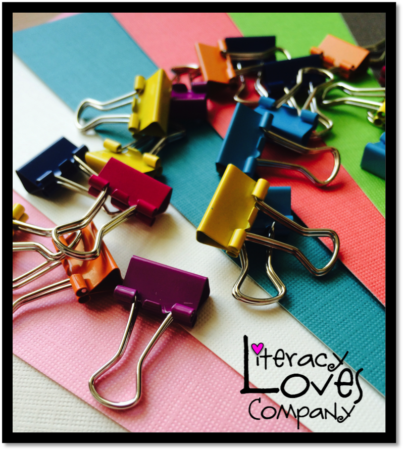 Save money with this classroom DIY tip:  Make your own binder clips!  An easy and cheap way to stay organized!
