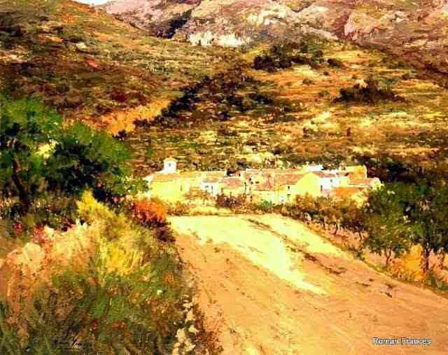 Испанский художник. Roman Frances