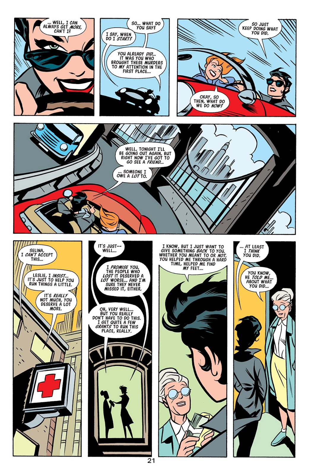 Catwoman (2002) Issue #4 #4 - English 22