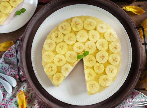 Desernik bananowy z mascarpone- na zimno