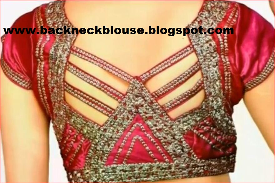 Ladies jacket neck design