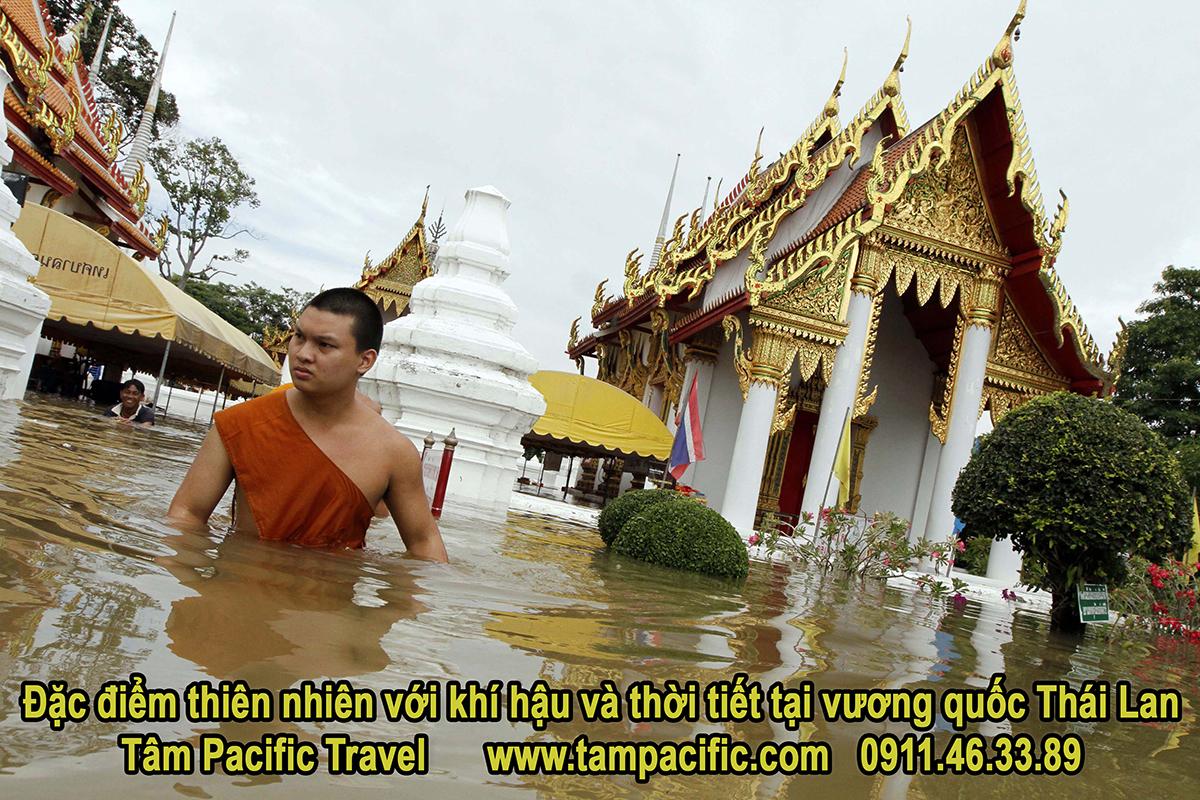 Đặc điểm thiên nhiên với khí hậu và thời tiết tại vương quốc Thái Lan
