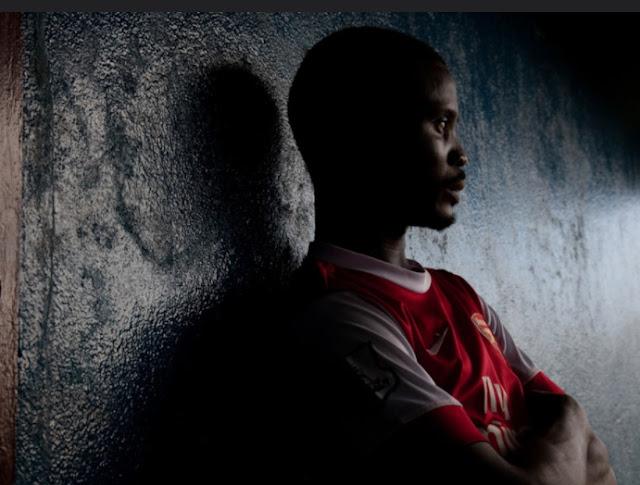 Father in Liberia Africa