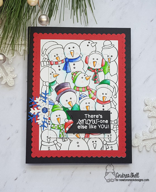 There's snow-one else like you by Andrea features Frozen Fellowship by Newton's Nook Designs; #newtonsnook