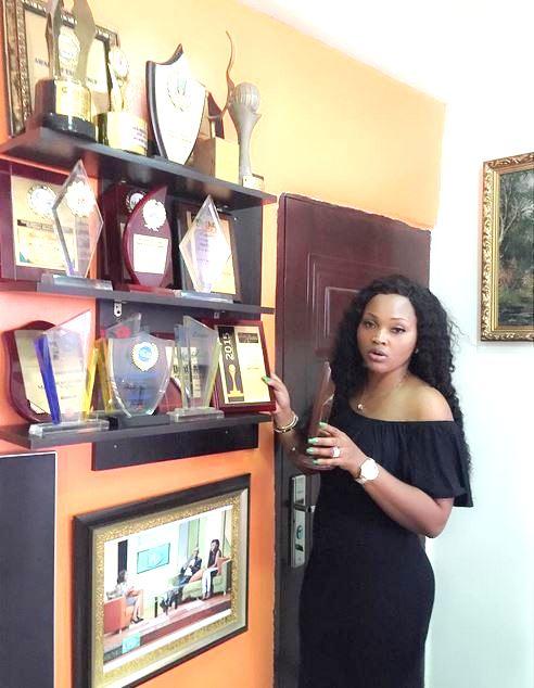 Mercy Aigbe Awards