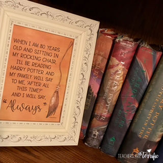 If you are a book lover and have enjoyed the wizard series with three fabulous friends, this poster set is perfect for you! The quotes featured are all from book characters or the actors that portrayed a character. These are inspirational quotes and they are displayed with gorgeous watercolor backgrounds and graphics reflecting the book series.
