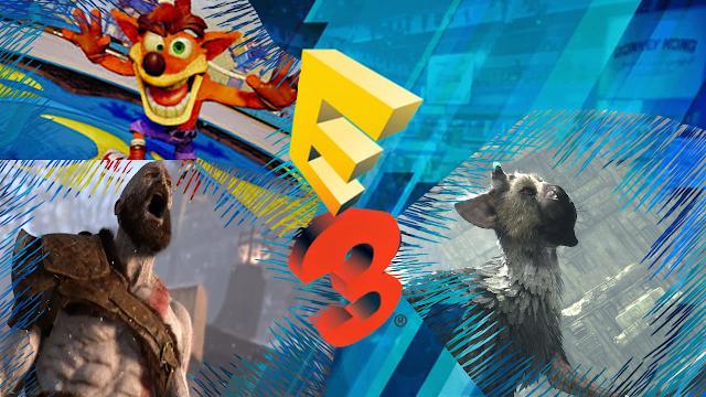 EA, Conferência da Bethesda, Conferência da Microsoft, Conferência da Ubisoft, Conferência da Sony.