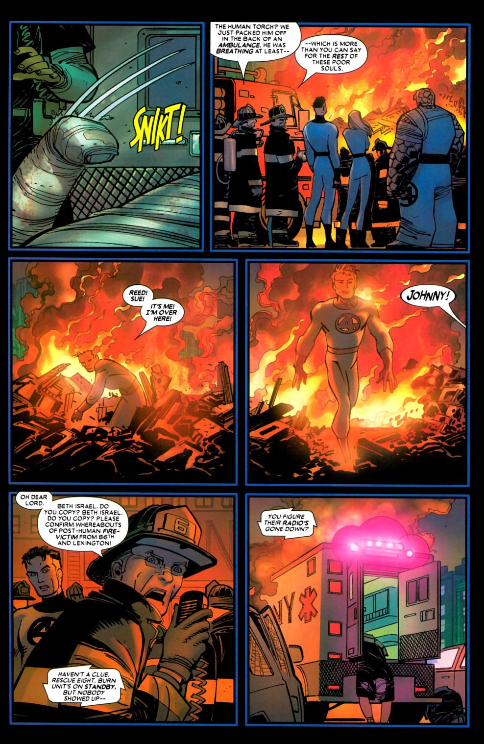 Read online Wolverine (2003) comic -  Issue #22 - 21