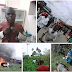 Town In Bayelsa On Fire As Vigilante And Thieves Clash, Properties Destroyed (Pics)