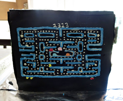 Retro Video Game Cake - Pac-Man Side