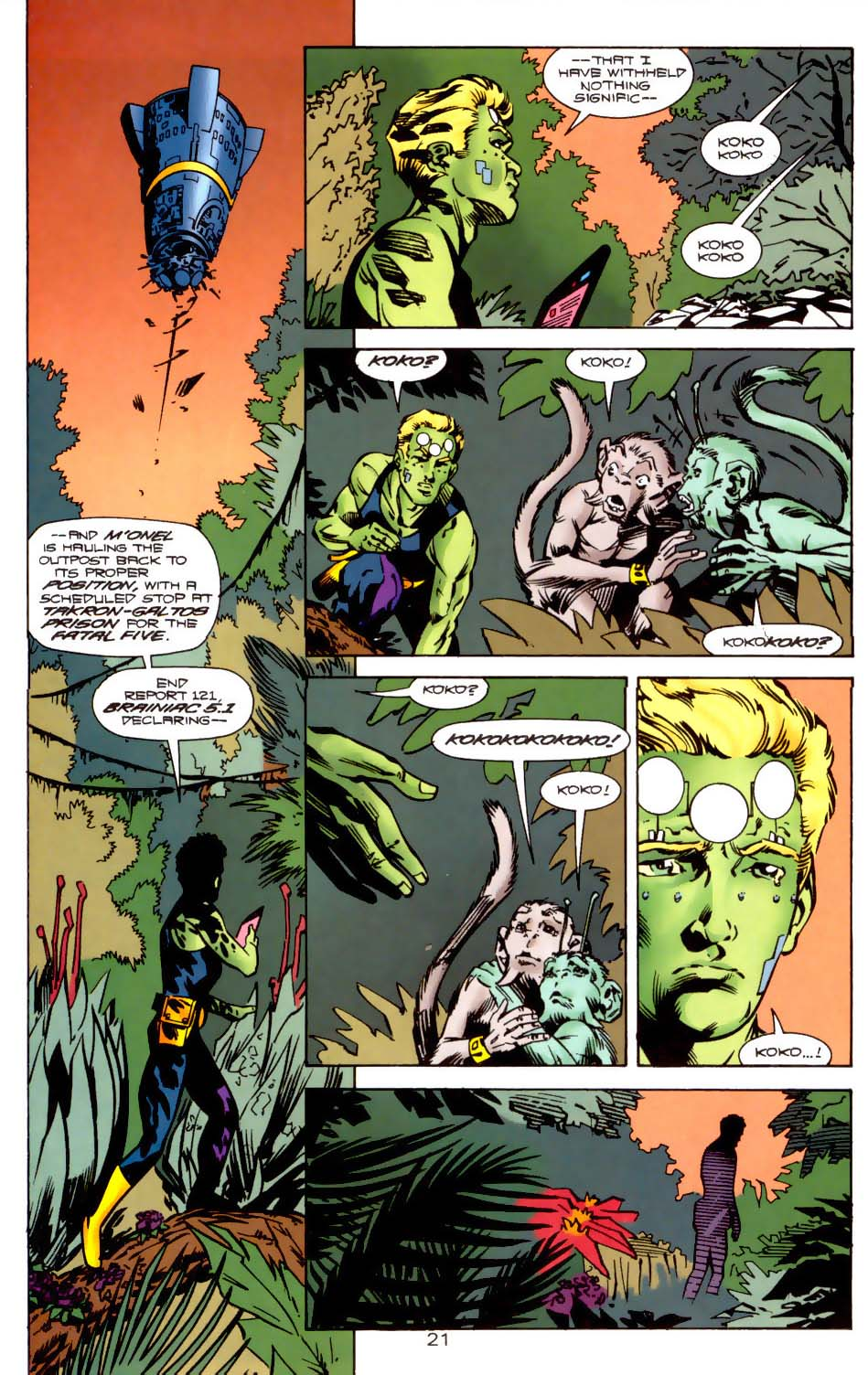Legion of Super-Heroes (1989) 121 Page 20
