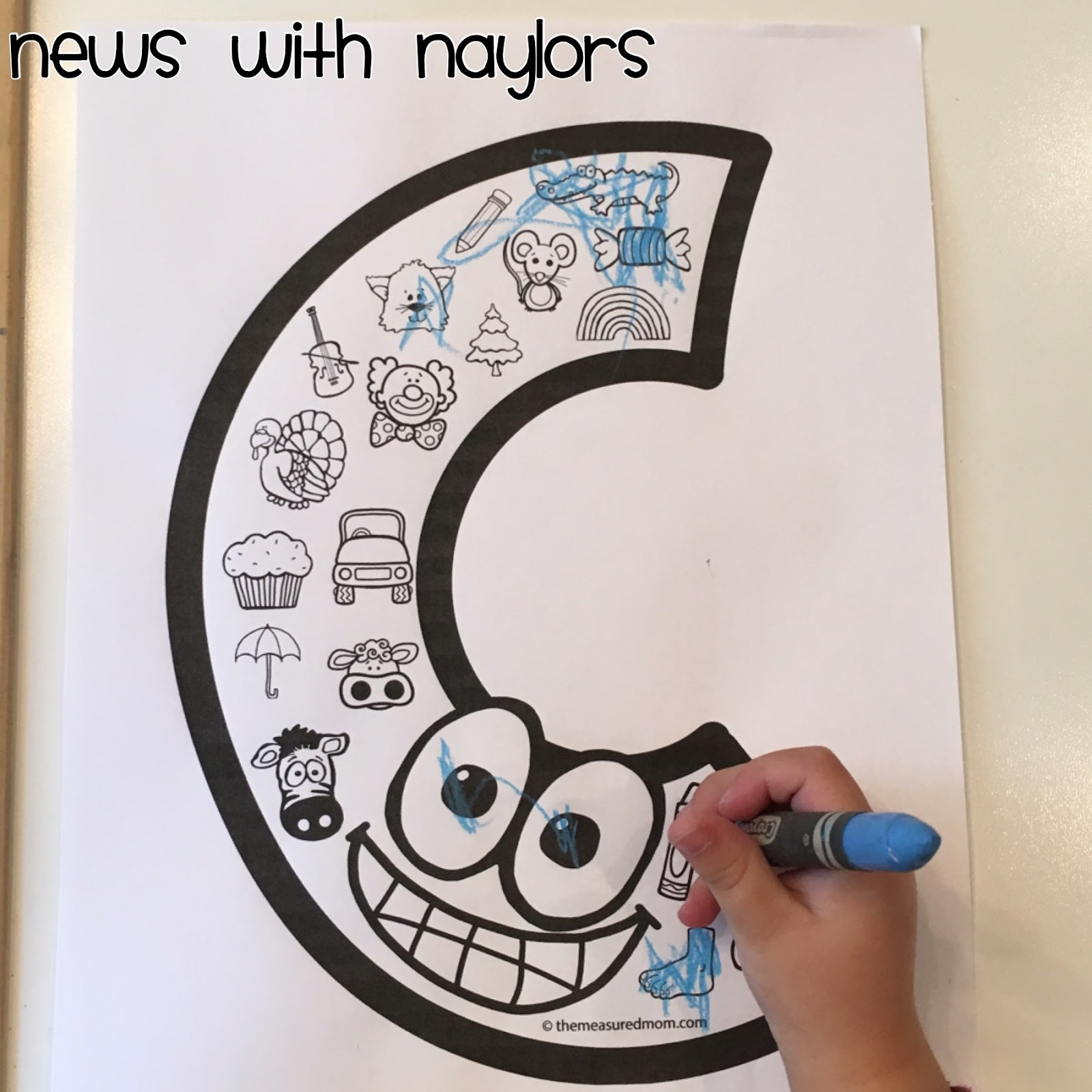 News With Naylors Letter C Letter Of The Week Age 3