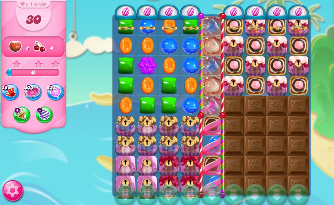 Candy Crush Saga level 6760