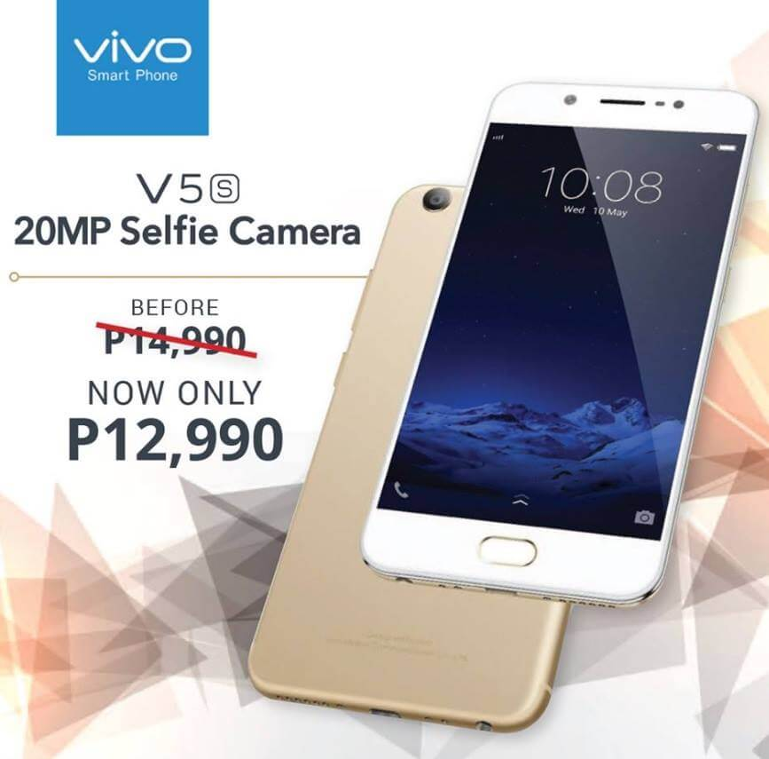 Vivo V5s Made More Affordable, Now Only Php12,990