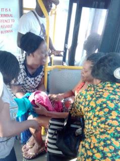 BRT, Woman,Lagos