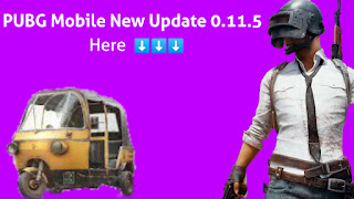 PUBG Mobile New Update 0.11.5! What's new