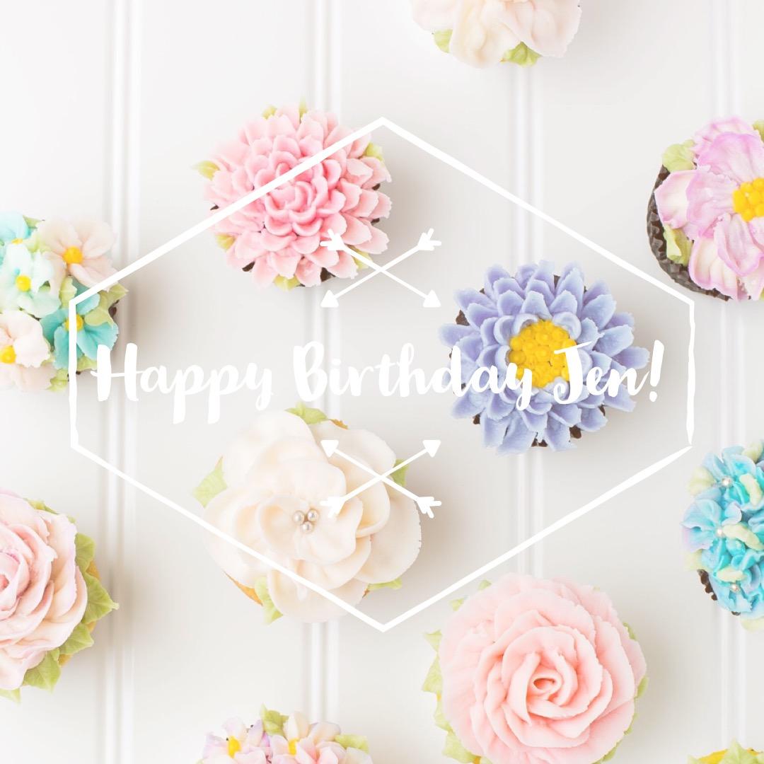 A Kept Life Flowers For Jen Surprise Birthday Hop