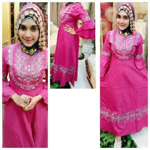Model Baju Gamis Muslim Trend Tahun Ini Baju Gamis Muslim Klik