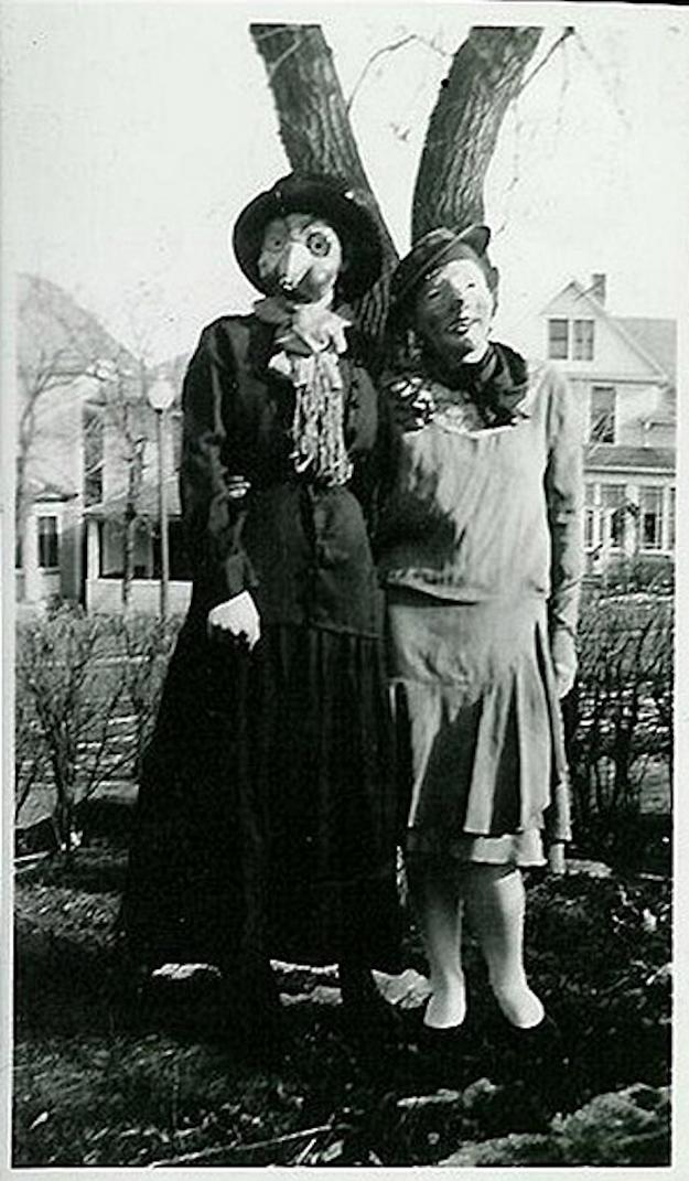 halloween creepy costumes dreams haunt strange scary costume masks retro buzzfeed horror nightmare annual second happy mask 1900 vintag es