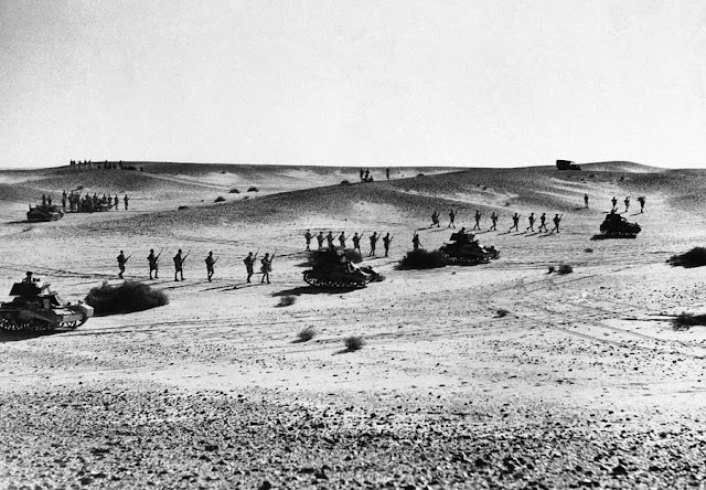 3 January 1941 worldwartwo.filminspector.com Australians Bardia desert maneuvers