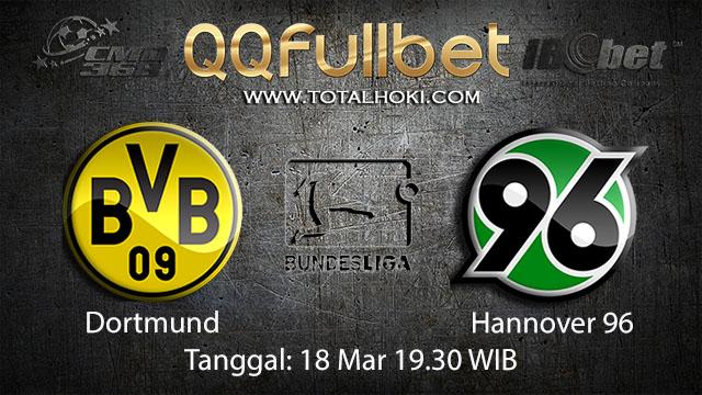 BOLA88 - PREDIKSI TARUHAN BOLA DORTMUND VS HANNOVER 18 MARET 2018 ( GERMAN BUNDESLIGA )