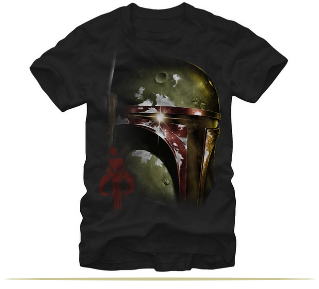 Star Wars Boba Fett of Mandalore Mens Graphic T-Shirt  |  www.9CoolThings.com
