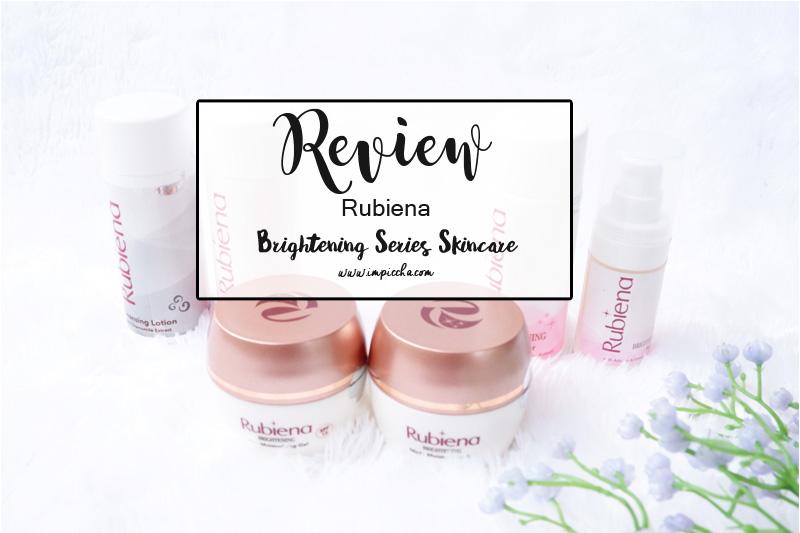 Rubiena Brightening Series Skincare