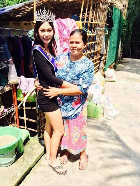 Inspiratif: Miss Thailand 2015 Anak Seorang Pemulung