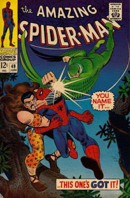 Amazing Spider-Man #49, the Vulture and Kraven
