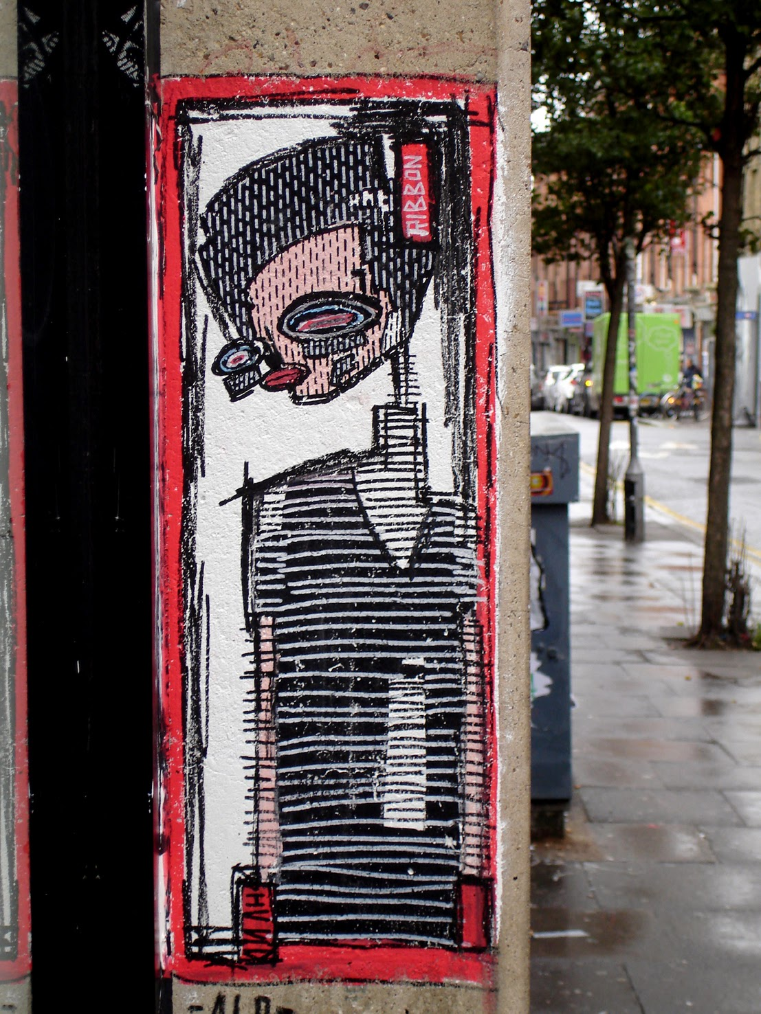 alo street portrait london art