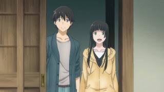 Uśmiechnięta Makoto Kowata i Kei Kuramoto