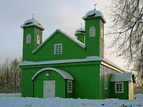 Masjid di Kota Warsawa Polandia Dirusak