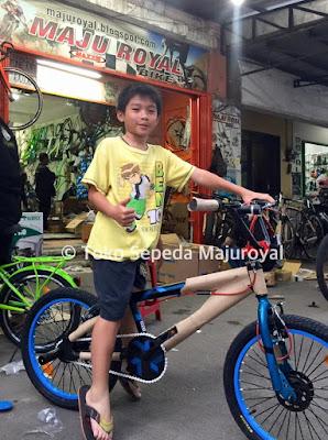 Sepeda Bmx rotor Freestyle