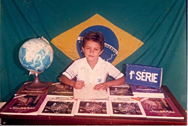 Eu, aluno. 1989.