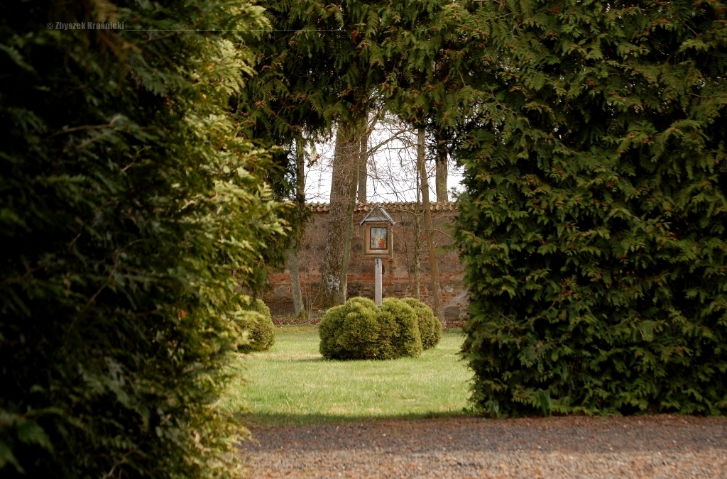 Stoczek Klasztorny, barkokowy ogród