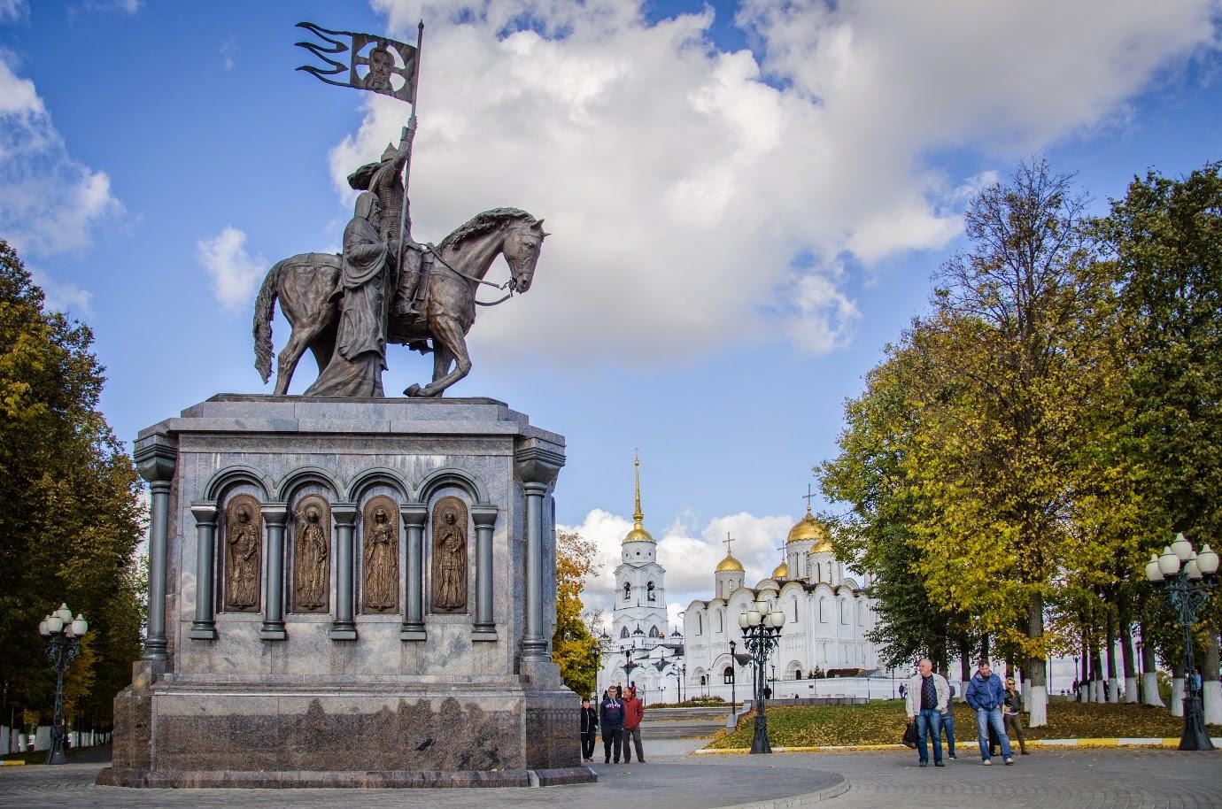 Памятник Владимиру Красное Солнышко и святителю Фёдору