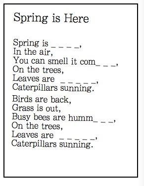 Poems Springtime 3