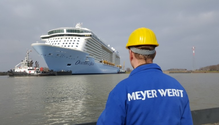 Ovation of the Seas Delivered