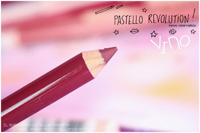 vino BioPastello labbra Neve Cosmetics  pastello revolution