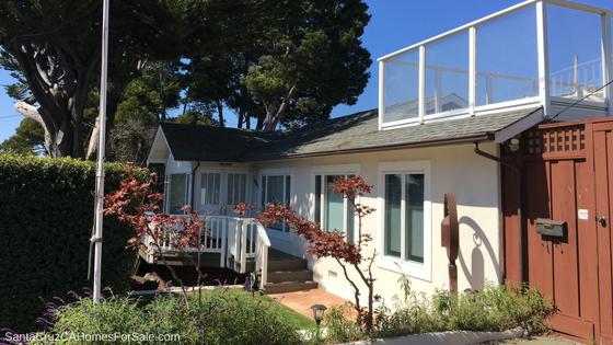 Santa Cruz Ocean view home